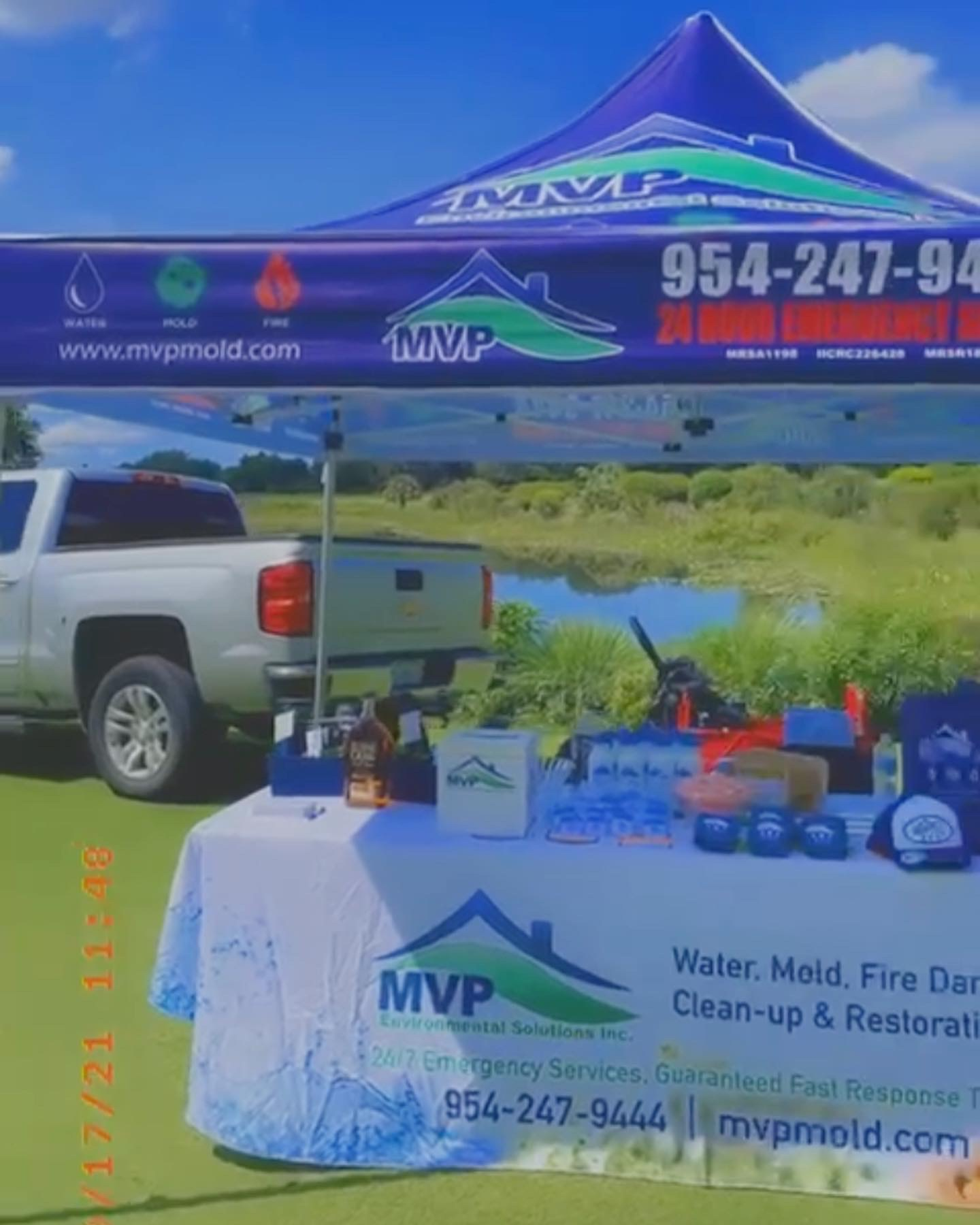 MVP Environmental Sponsors Hole 1 at Make our Schools SafeGolf Classic