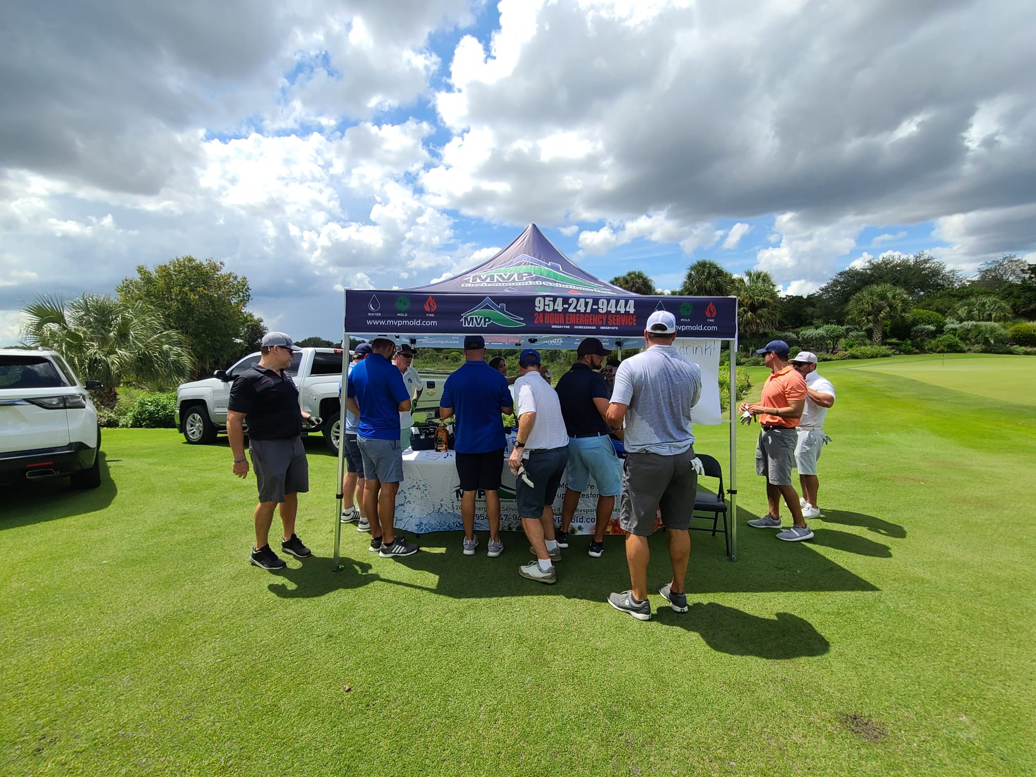 MVP Environmental Parkland Sponsors Make Our School Safe Golf Classic