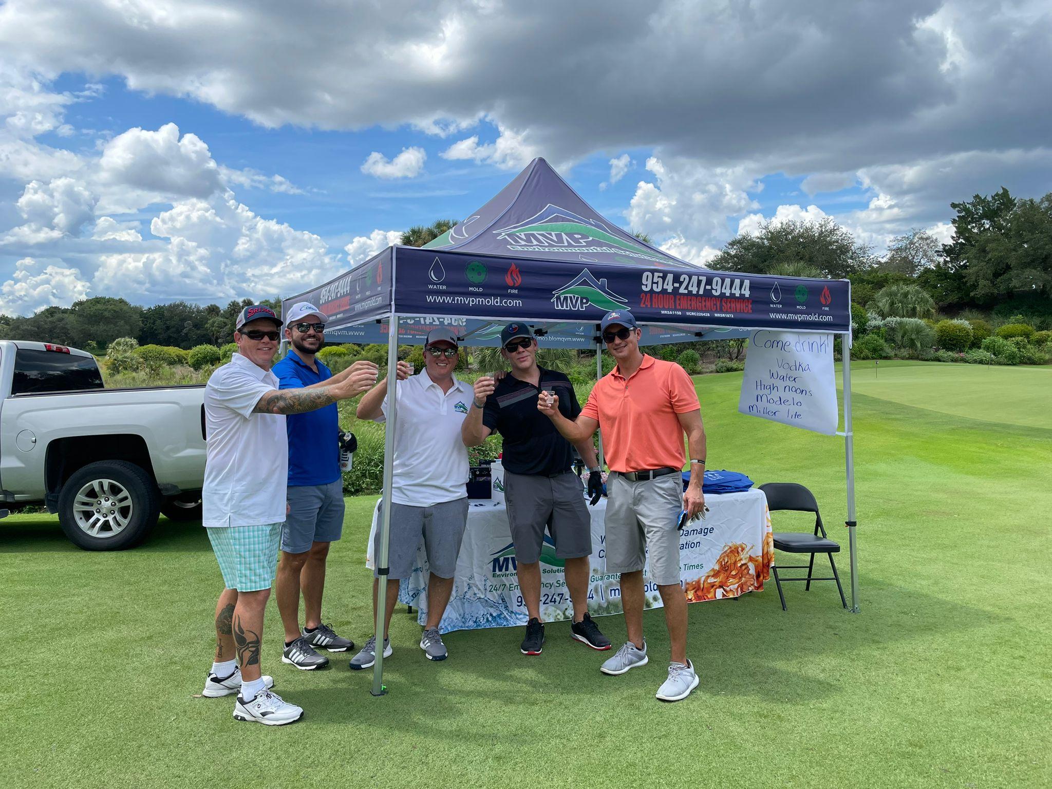 MVP Environmental Sponsors at Make our School Safe Golf Classic
