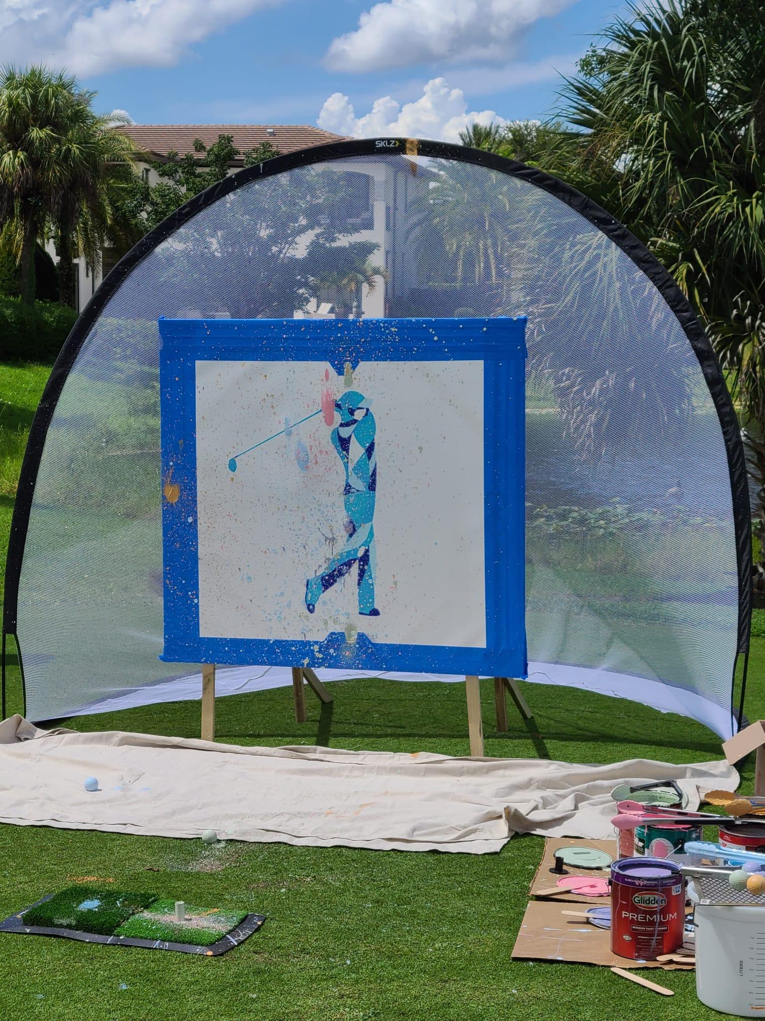 Charity Golf Art